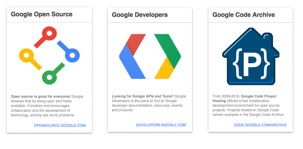 google コードサービス 画像